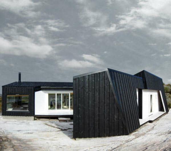 Holzbungalow Holz und Blockhäuser sommer Fertighaus