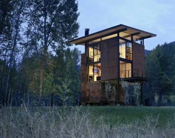 Holzbungalow Holz und Blockhäuser sonne Fertighaus