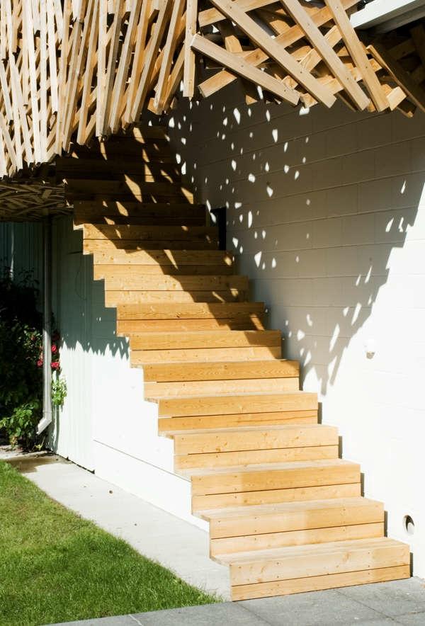 Holzbungalow Fertighaus Holz und Blockhäuser