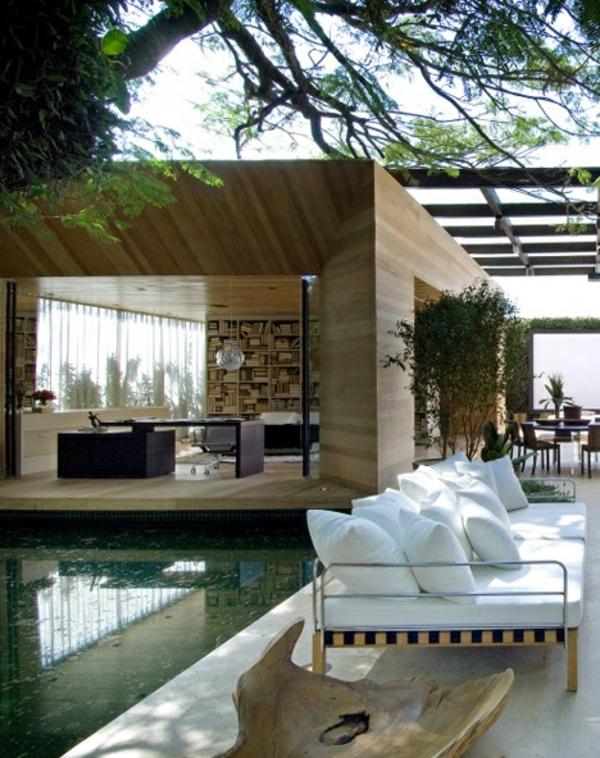 Holzbungalow fertighaus 50 hochmoderne holz und blockh user for Kleines fertighaus bungalow