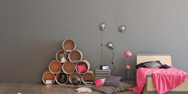 kinderzimmer deko 30 aktuelle beliebte einrichtungsideen. Black Bedroom Furniture Sets. Home Design Ideas