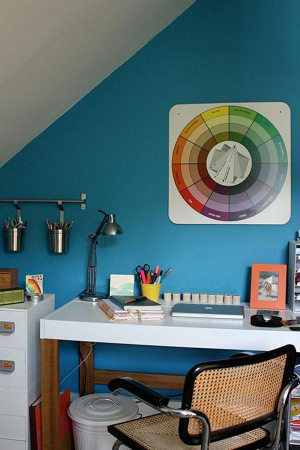 Kombinationen von Wandfarben farblehre