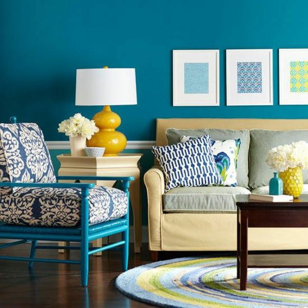 40 kombinationen von wandfarben malen sie ihr leben bunt - Wandfarbe leuchtend ...