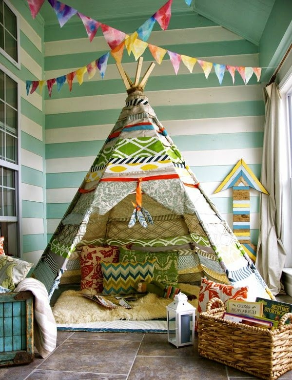 Kuschelecke kinderzimmer selber bauen  Kuschelecke im Kinderzimmer - Ergonomie und Gemütlichkeit