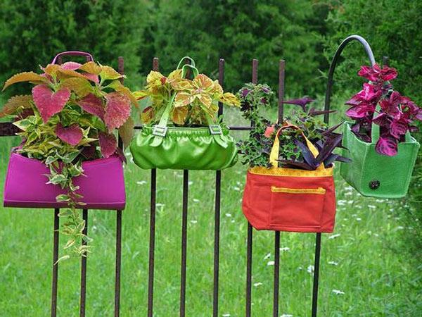 Lustige Gartendeko selber machen - DIY Pflanzgefäße
