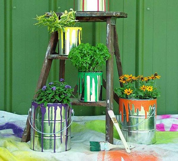 lustige gartendeko selber machen - diy pflanzgefäße, Garten und bauen