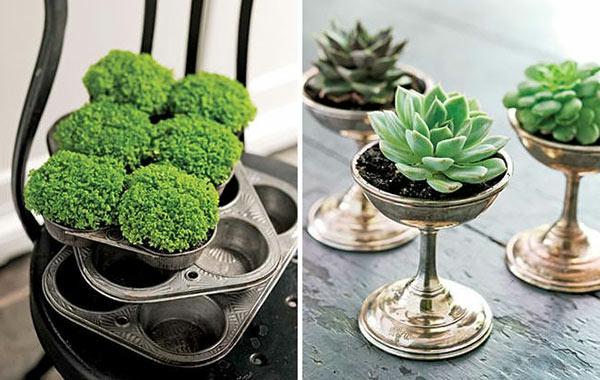lustige gartendeko selber machen - diy pflanzgefäße, Gartenarbeit ideen