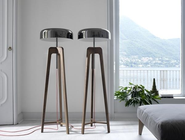 schlafzimmer Stehlampen Designs cool lampenfuß