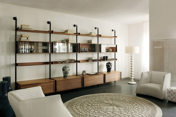 Moderne Stehlampen Designs teppich rund