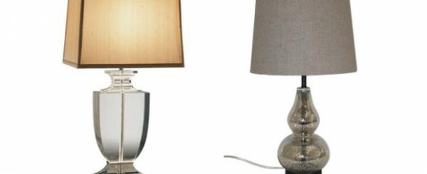 Tischleuchten aus Glas designs Moderne