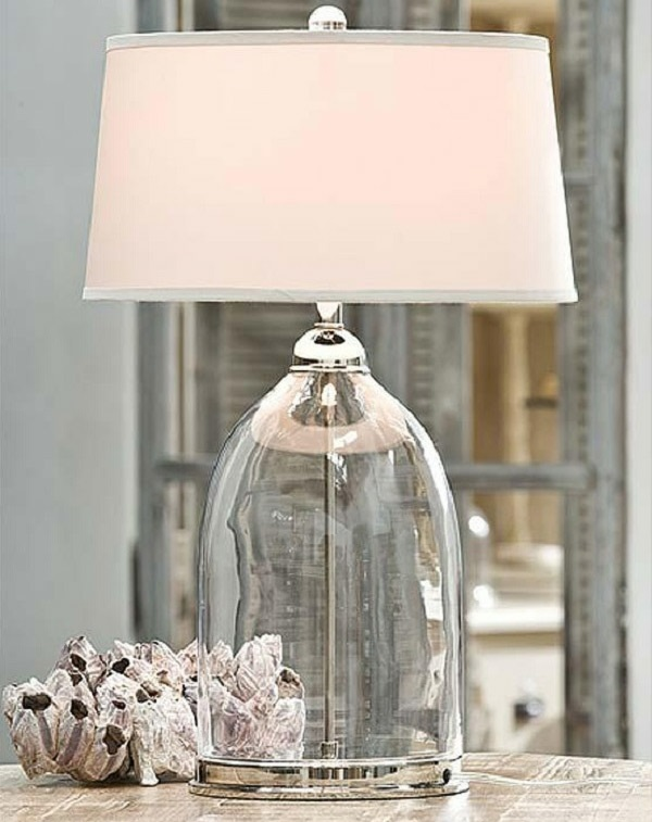 Fillable Glass Table Lamp Base Moderne Tischleuchten aus Glas – wundervolle Beleuchtung zu Hause