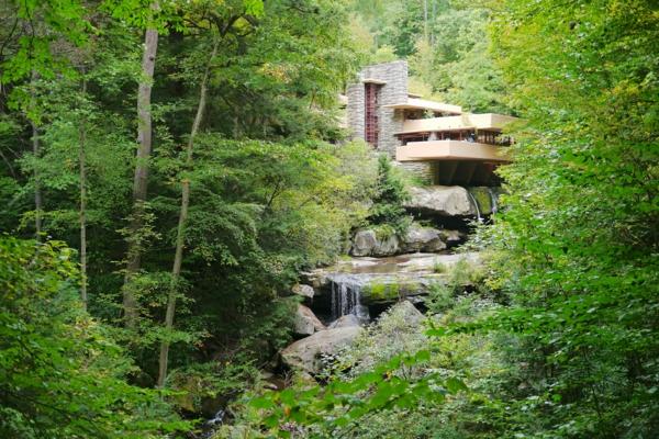 Organische Architektur steine fußweg