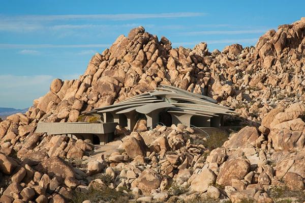 Organische Architektur steine rock felsen