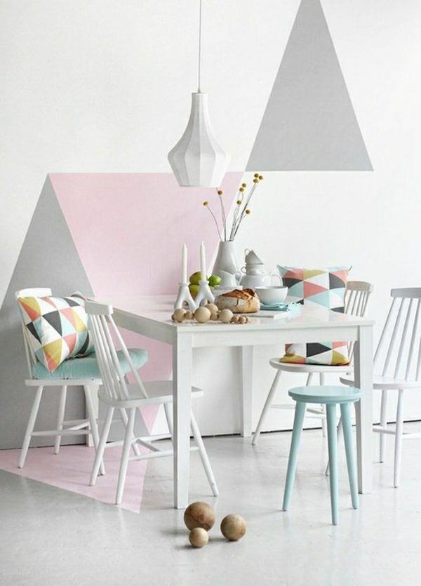 Farbpalette Wandfarbe Pastell : Pastell Wandfarben farbpalette farbgestaltung niedlich rosa grau