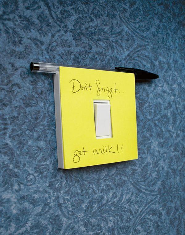 Retro Lichtschalter Designs diy deko gelb farbe