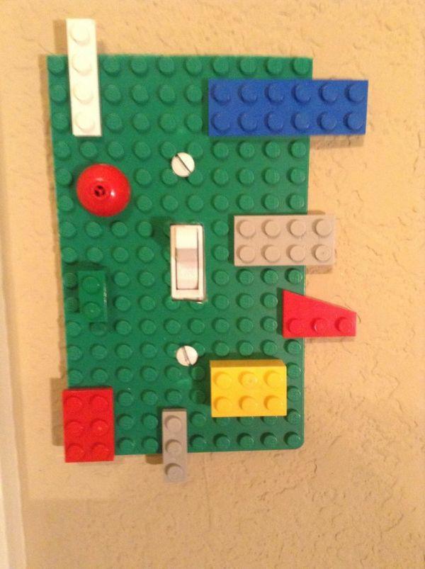 Retro Lichtschalter Designs diy deko lego