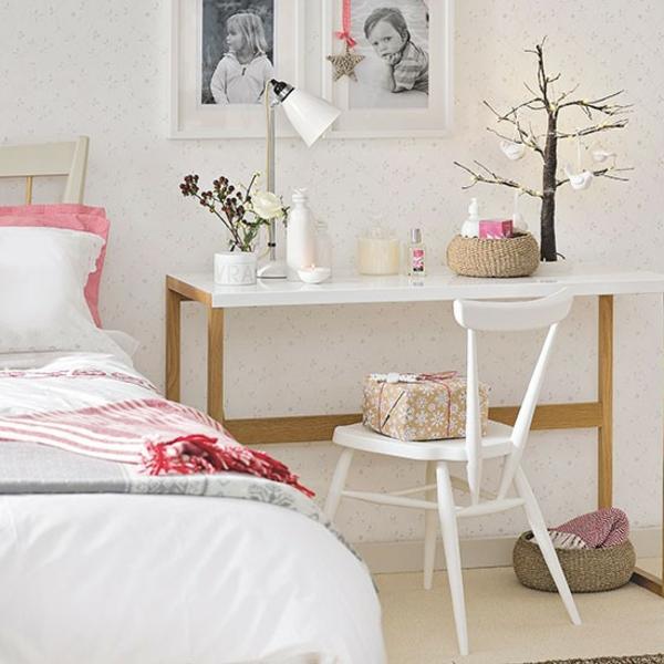 Schlafzimmer Ideen gestalten einrichten beistelltisch