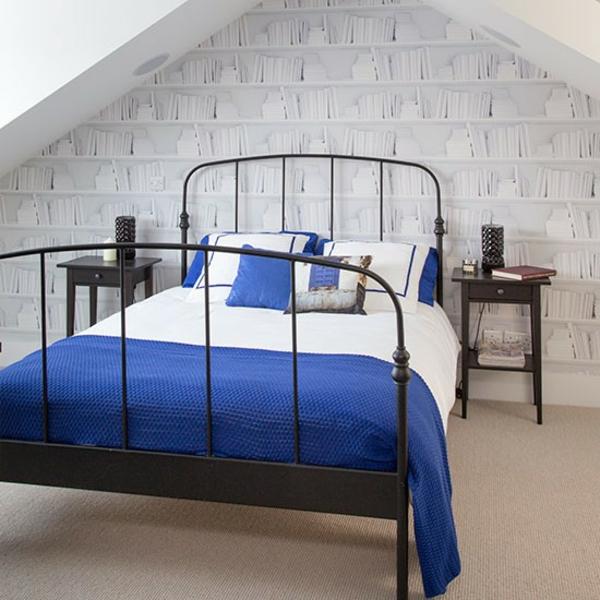 Schlafzimmer Ideen gestalten einrichten bett rahmen