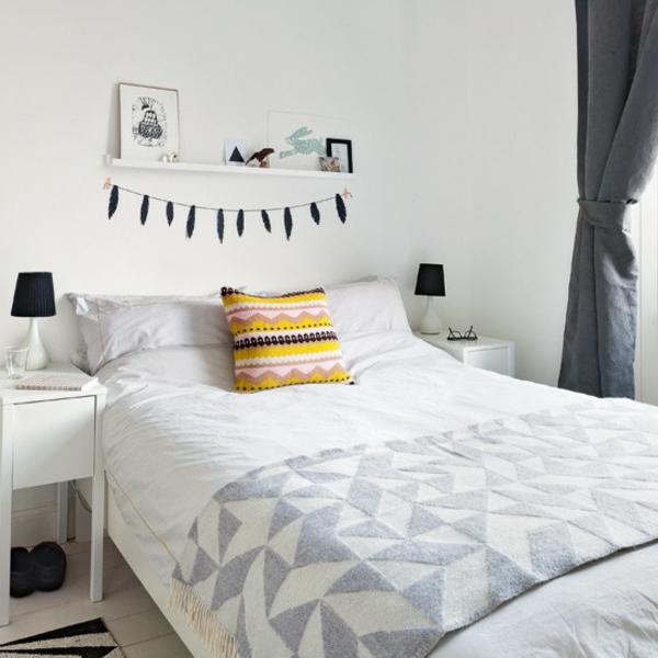 Schlafzimmer Ideen gestalten einrichten deko