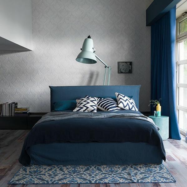 Schlafzimmer Ideen gestalten einrichten einladend warm