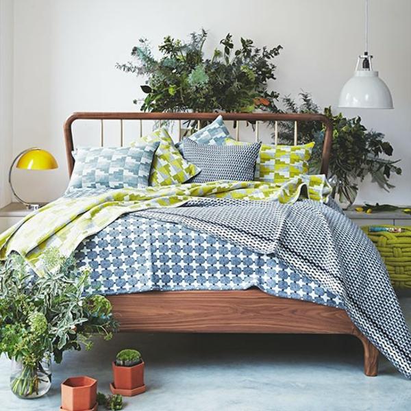Schlafzimmer Ideen gestalten einrichten pflanzen