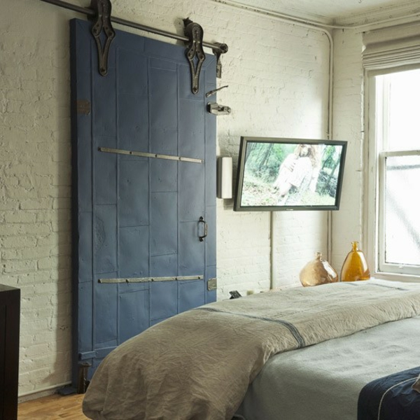 Schlafzimmer dekoartikel Ideen gestalten einrichten schiebetür