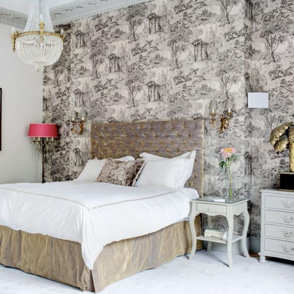 Schlafzimmer komplett gestalten brauntöne