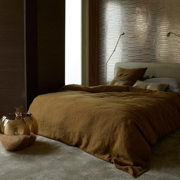 Schlafzimmer komplett gestalten erdtöne