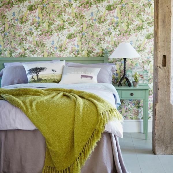 Schlafzimmer komplett gestalten frisches ambiente