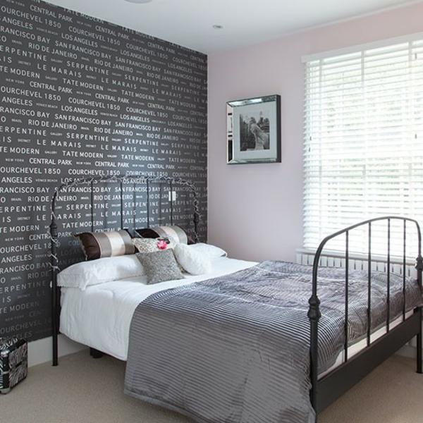 Schlafzimmer komplett gestalten grau männlich