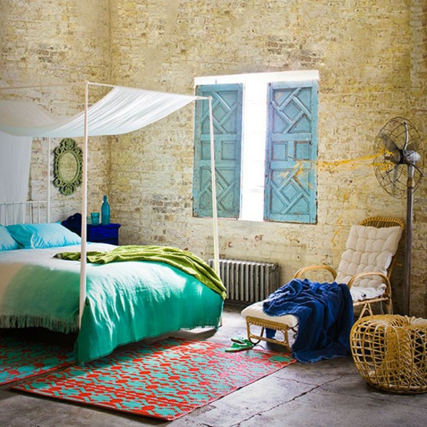 Schlafzimmer gestalten orientalisch komplett