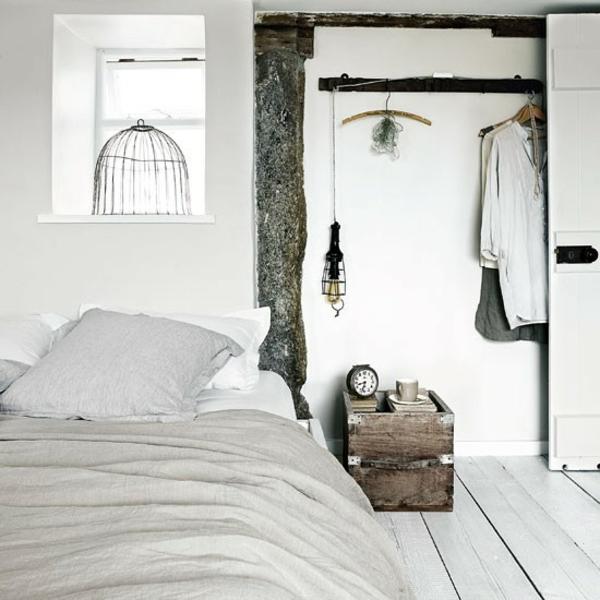 komplett gestalten weiß einrichtung Schlafzimmer