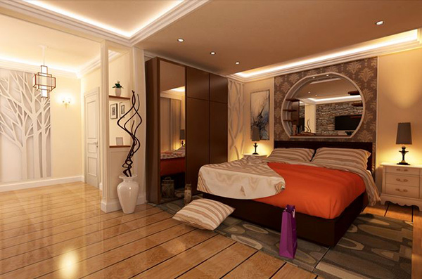 schlafzimmergestaltung und wandfarben charme und luxus zu hause. Black Bedroom Furniture Sets. Home Design Ideas