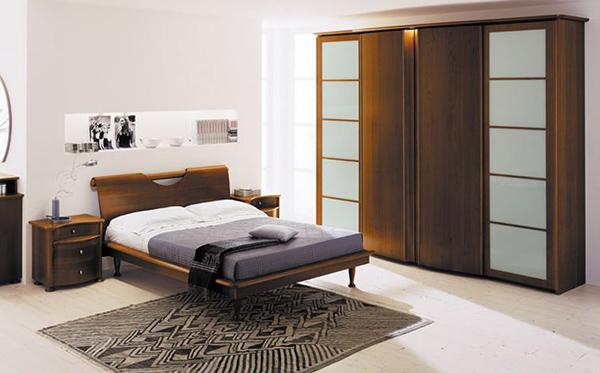 Schlafzimmergestaltung feng shui zen stil Wandfarben deko einrichten ideen