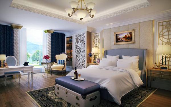 Schlafzimmergestaltung Und Wandfarben Charme Und Luxus Zu Hause