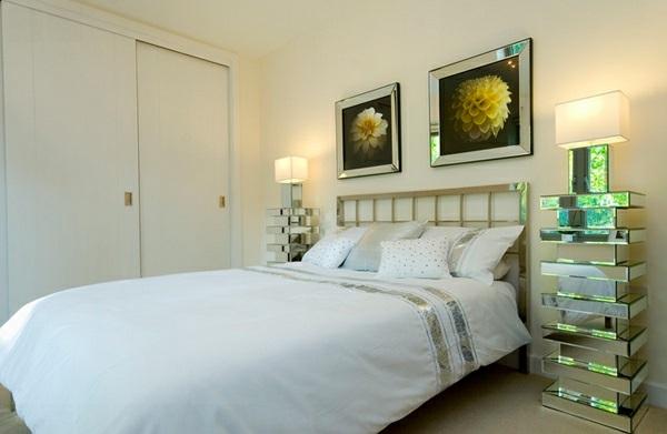 Schlafzimmermöbel und Nachttische spiegel antik design glanzvoll