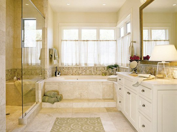 Sichtschutz f r badfenster fensterl den und fensterdeko for Badezimmer im englischen design