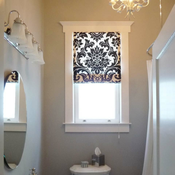 badezimmer duschvorhang blumen badezimmer vorhnge ...