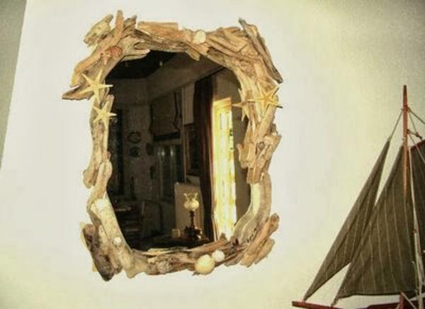 Souvenirs spiegel rahmen muscheln Sommer