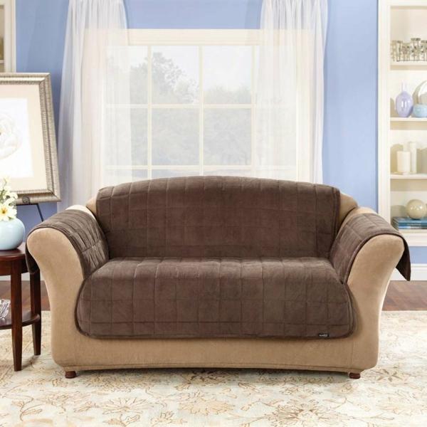 Stretchbezug blumenvasen Sofa traditionell look