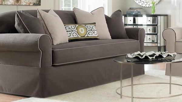 Stretchbezug für Sofa wohnzimmer couchtisch