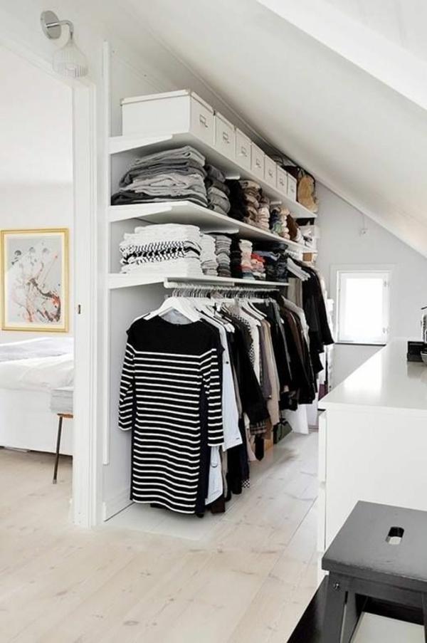 ankleidezimmer gestalten begehbarer kleiderschrank systeme