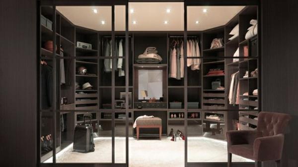 ankleidezimmer planen möbel offener kleiderschrank begehbarer kleiderschrank