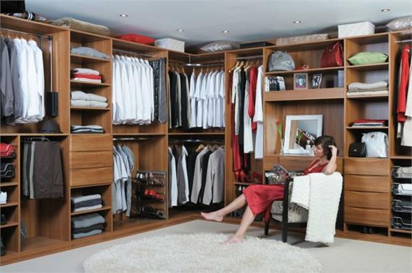 Ikea Malm Bett Verpackungsmaße ~ Ankleidezimmer planen – 30 Beispiele für einen gut organisierten
