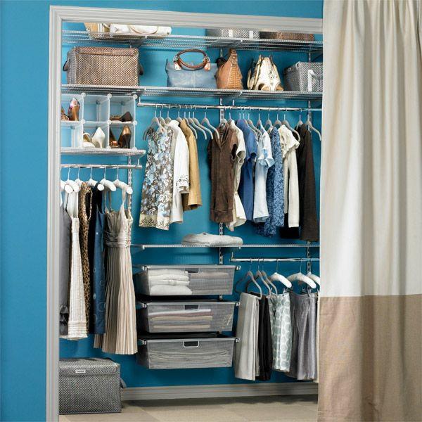 ankleidezimmer selber bauen diy kleiderständer nische vorhang kleiderschrank systeme