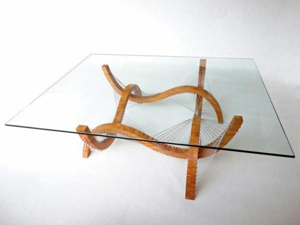 bambus möbelstücke deko kaffeetisch