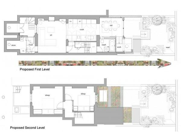 architektenhaus jewelbox london architektonischer wohnplan