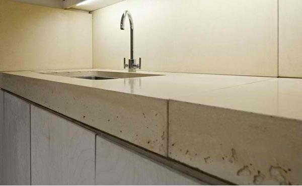 architektenhaus jewelbox london küche arbeitsplatte küchenrückwand