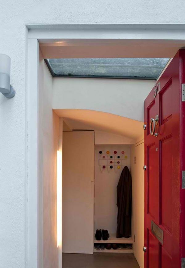 architektenhaus jewelbox london moderne architektur eingangsbereich flur gestalten