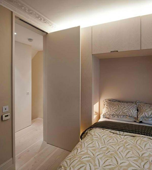 architektenhaus jewelbox london moderne inneneinrichtung schlafzimmer gestalten